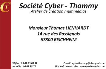 cyberthommy-cartes de visite